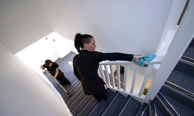 Residential Block Cleaning